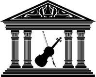Sala de concertos Fotografia de Stock