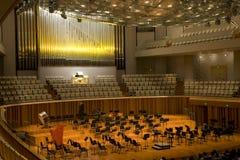 Sala de concertos Imagens de Stock