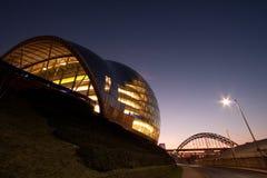 Sala de concertos e teatro prudentes, Gateshead Foto de Stock