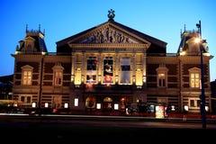 Sala de concertos em Amsterdão fotografia de stock royalty free