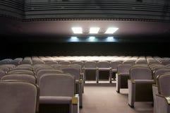 Sala de concertos nova fotografia de stock royalty free