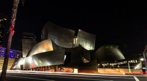 Sala de conciertos de Disney Foto de archivo libre de regalías