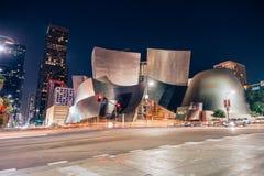 Sala de conciertos de Disney en Los Ángeles céntrico Foto de archivo