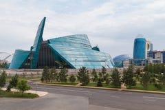 Sala de conciertos en Astaná Imágenes de archivo libres de regalías
