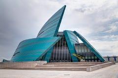 Sala de conciertos en Astaná Imagen de archivo libre de regalías
