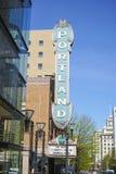 Sala de conciertos famosa en Portland - Arlene Schnitzer Concert Hall - PORTLAND - OREGON - 16 de abril de 2017 Imagenes de archivo