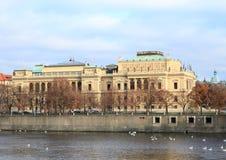 Sala de conciertos Rudolfinum Fotografía de archivo libre de regalías
