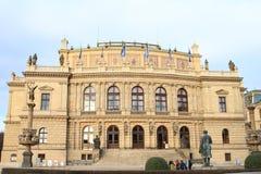 Sala de conciertos Rudolfinum Imágenes de archivo libres de regalías