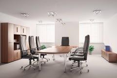 Sala de conferências 3d interior Imagem de Stock Royalty Free