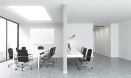 Sala de conferências com whiteboard ilustração do vetor