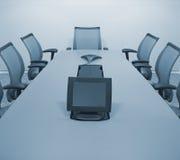 Sala de conferências corporativa ilustração do vetor