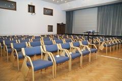 Sala de conferências, DOF raso imagem de stock