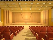 Sala de conferências ou quarto vazio ilustração stock