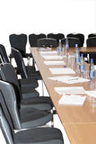 Sala de conferências vazia Foto de Stock Royalty Free