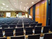 Sala de conferencias imágenes de archivo libres de regalías