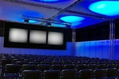 Sala de conferencias Imagen de archivo libre de regalías