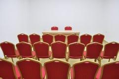 Sala de conferencias Fotos de archivo libres de regalías