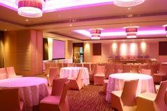 Sala de conferencias del hotel Fotos de archivo