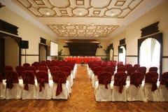 sala de conferencias en hotel Imagen de archivo libre de regalías