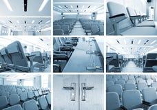 Sala de conferencias (fotos) Foto de archivo libre de regalías