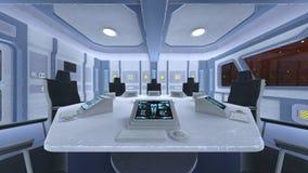Sala de conferencias de la estación espacial Fotos de archivo