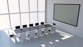 Sala de conferencias moderna Fotografía de archivo