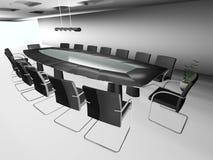 sala de conferencias redonda 3d Fotografía de archivo