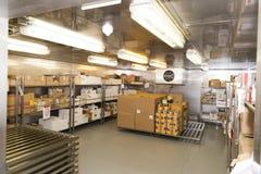 Sala de congelação do restaurante Imagem de Stock Royalty Free