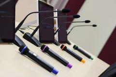 Sala de congreso de negocios Imagen de archivo libre de regalías