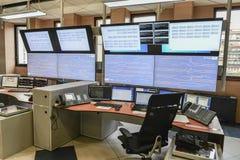 Sala de control Fotografía de archivo