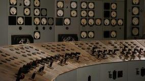 Sala de control foto de archivo