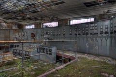 Sala de control de Elctrical Fotografía de archivo