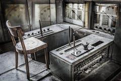 Sala de control de Zeche Zollverein Fotos de archivo