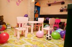 Sala de crianças Fotos de Stock Royalty Free