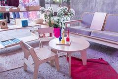 Sala de crianças Sala de jogo Quarto creativo restroom Sala para jogos imagens de stock royalty free
