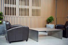 Sala de espera de lujo Imagen de archivo libre de regalías