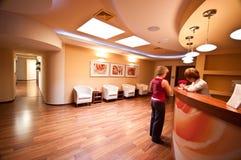 Sala de espera del BALNEARIO Imagenes de archivo