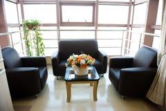 Sala de espera del hospital Foto de archivo libre de regalías