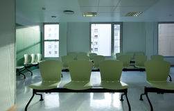 Sala de espera do hospital Foto de Stock Royalty Free