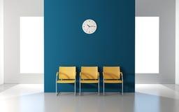 Sala de espera moderna libre illustration