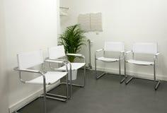 Sala de espera vazia imagem de stock