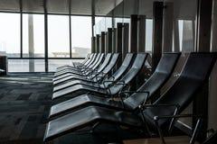 Sala de espera vazia no aiport Foto de Stock Royalty Free