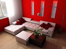 Sala de estar imagem de stock royalty free