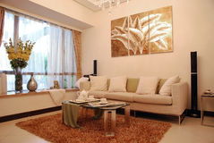 Sala de estar Imagens de Stock Royalty Free
