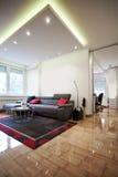 Sala de estar Foto de archivo libre de regalías