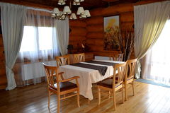 Sala de estar fotografía de archivo libre de regalías