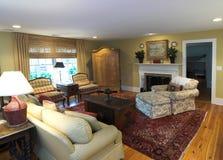 Sala de estar acogedora Fotos de archivo