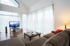 Sala de estar acolhedor Foto de Stock