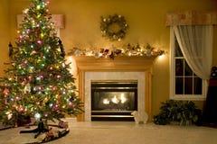 Sala de estar adornada Fotos de archivo