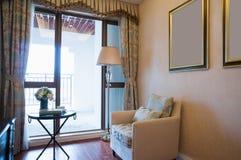 Sala de estar agradable Imagen de archivo libre de regalías